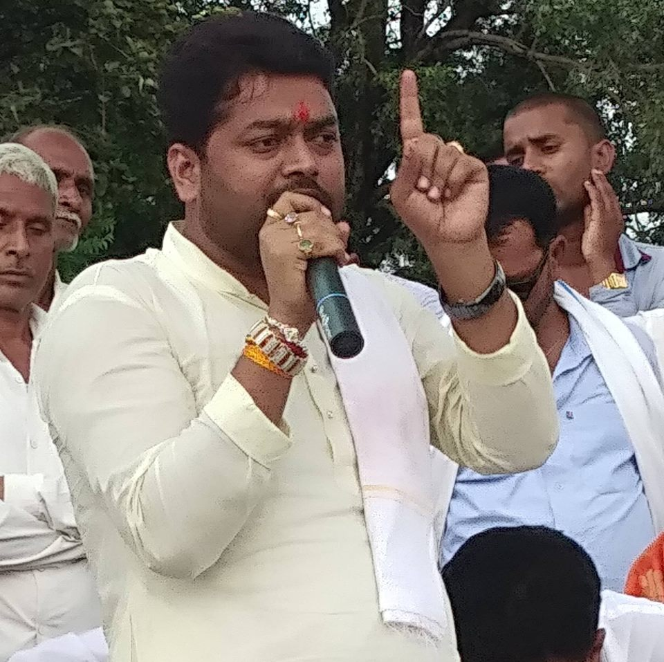 Active leader of Jharkhand.